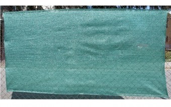 Protectie soare, vant garduri 2x10m, verde, Slovakia Trend foto
