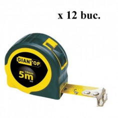 Set 12 rulete lungime 5 m cu auto-strangere Strend Pro GIANT CR-82