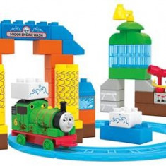 Jucarie Mega Bloks Thomas & Friends Sodor Wash Down Playset - Trenulet