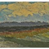 Doru Gheorghe Ionescu (1889-1988)* Ulei pe carton - Pictor roman, Peisaje, Altul