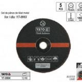 Set discuri de taiat metal 75mm, Yato YT-0994