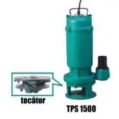 Pompa submersibila de apa murdara cu tocator Taifu TPS1500 - Pompa gradina