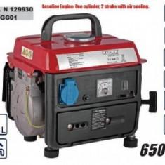 Generator electric 650W, Raider RD-GG01 - Generator curent Raider Power Tools