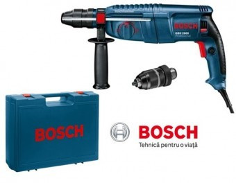 Ciocan rotopercutor sds plus 2.7J, 720W, Bosch GBH 2600 PROFESSIONAL foto