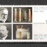 Germania.2004 150 ani nastere P.Ehrlich si E.von Behring-PREMIUL NOBEL SG.1182 - Timbre straine, Nestampilat
