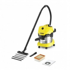 Aspirator uscat/umed Karcher WD 4 Premium - Aspirator fara Sac