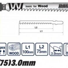 Set panze lemn ferastrau pendular 2Buc., Raider