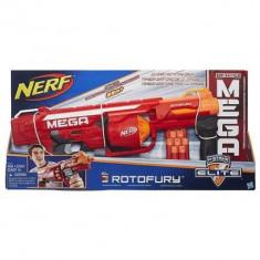 Pusca Nerf N-Strike Mega Series Roto Fury Blaster - Pistol de jucarie Hasbro
