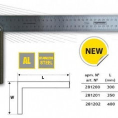 Echer din aluminiu 400mm, TopMaster - Nivela laser cu linii