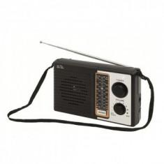 Radio portabil retro, 4 benzi, Sal RPR 4B, negru - Aparat radio