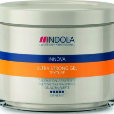 Gel de par Indola Ultra Strong Gel, 200 ml - Vopsea de par
