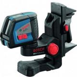 Nivela laser cu linii 20m, Bosch GLL 2-50+BM1