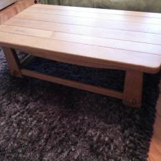 Masa, masuta, germana, din lemn masiv, pentru sufragerie, living - Masa living
