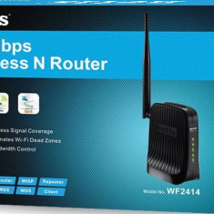 Router Wireless Netis WF2414, Porturi LAN: 4