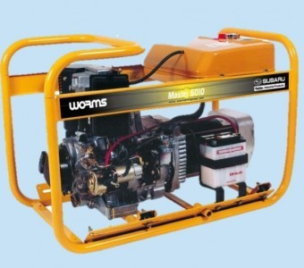Generator curent Monofazat Diesel Subaru Master 6010 DXL15, 6.4kVA foto mare