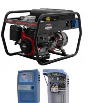 Generator benzina 4.5kVA, EAG 4500 cu automatizare inclusa foto mare