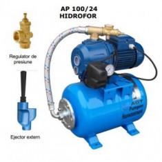 Hidrofor cu autoamorsare de adancime, cu ejector Pentax AP100