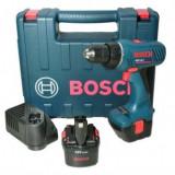 Masina de gaurit si insurubat cu acumulator 12V, Bosch GSR 12-2