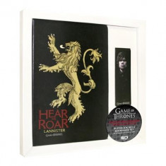 Notebook With Marque-Page Games Of Thrones Lannister - Caiet