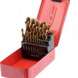 Set 25Buc burghie pentru metal HSS-Titan 1-13mm, Sthor