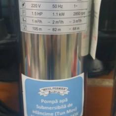 POMPA SUBMERSIBILA MICUL FERMIER PRO 4SKM-100 0.75 KW, Pompe submersibile, de drenaj