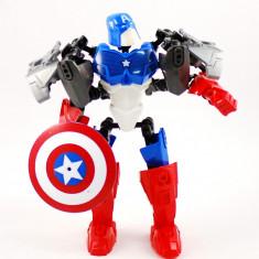Jucarie Robots Super Heroes Alliance - Captain America - Roboti de jucarie Hasbro