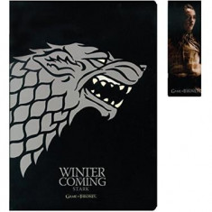 Notebook And Marque-Page Game Of Thrones Stark - Caiet