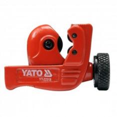 Cutter pentru tevi de cupru, plastic 3-32mm, Yato YT-22318