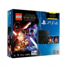 Consola Playstation 4 500Gb Plus Lego Star Wars The Force Awakens