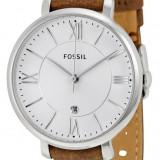 Fossil ES3708 Jacqueline ceas dama nou 100% original. Garantie. Livrare rapida., Elegant, Quartz, Inox, Piele, Data