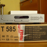 NAD T-585 high-end CD-SACD-DVD-Spieler Cu Telecomanda si Manual, PRET FIX - Amplificator audio