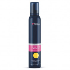 Spuma de par Indola Color Style Blond Miere, 200 ml - Vopsea de par