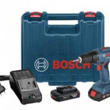 Bormasina cu 2 acumulator1, 18V, Bosch GSR 1800-Li