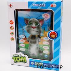 Tableta de jucarie TALKING TOM 3D cu touch - Repeta, Vorbeste, Canta etc. - Let's play together!