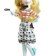 Papusa Monster High Shriekwrecked Nautical Ghouls Doll Lagoona Blue