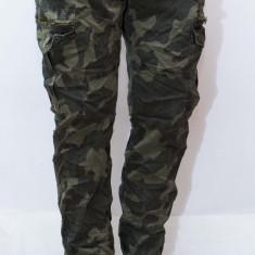 Pantaloni Army tip Zara Man - pantaloni barbati pantaloni camuflaj - cod 94 - Blugi barbati, Marime: 30, 32, 36, Culoare: Din imagine, Slim Fit