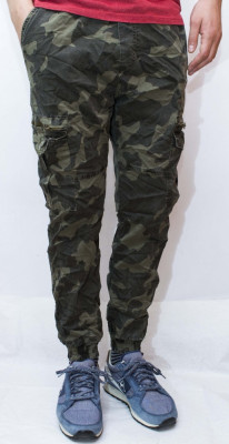 Pantaloni Army - pantaloni barbati pantaloni camuflaj - cod 94 foto