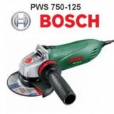 Polizor unghiular 750W, Bosch PWS 750-125