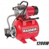 Hidrofor 1200W corp inox, Raider RD-WP1200