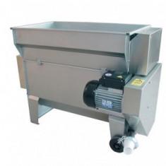 Dezciorchinator zdrobitor cu motor si pompa centrifuga, INOX, Gamma 25 - Zdrobitor struguri