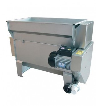 Dezciorchinator zdrobitor cu motor si pompa centrifuga, INOX, Gamma 25 foto