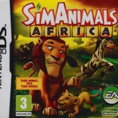 Simanimals Africa Nintendo Ds - Jocuri Nintendo DS Electronic Arts