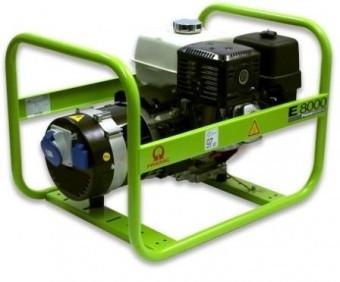 Generator de curent monofazat HONDA - PRAMAC E8000 - 7,15kVA foto mare