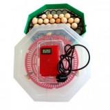 Incubator cu dispozitiv întoarcere oua si termometru CLEO 5DT - Incubator oua