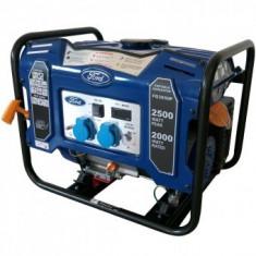 Generator Ford Tools FG3050P, 2500W, 230V, AVR inclus, motor benzina - Generator curent