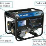 Generator de curent monofazat Mitsubishi AGT 5001 MSB - 4, 6kVA - Generator curent Agt, Generatoare digitale