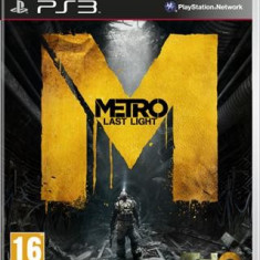 Metro Last Light Ps3 - Jocuri PS3 Thq, Shooting, 18+