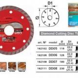 Disc diamantat segmentat TURBO 180mm, Raider