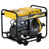 Generator de curent trifazat KIPOR KGE 6500 E3, 5.6kVA, benzina - Generator curent