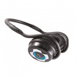 Casti Bluetooth, 3 in 1, Sal BTHP 2000/BK, pliabile, microfon si control volum, negru, Casti On Ear